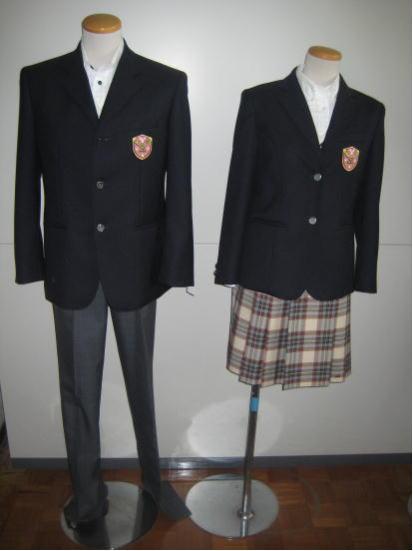 行橋高等学校制服画像